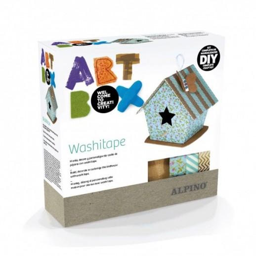 Cutie cu articole creative ALPINO ArtBox Washitape